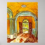 Van Gogh Vestibule Of The Asylum Poster