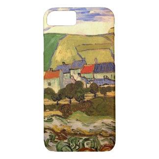 Van Gogh View of Auvers, Vintage Cottage Fine Art iPhone 8/7 Case