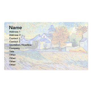 Van Gogh - View of the Asylum and Chapel Business Card