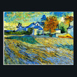 "Van Gogh - View of the Church of Saint Paul Postcard<br><div class=""desc"">Van Gogh - View of the Church of Saint Paul postcard. VIRGINIA5050,  custom-designed products and gifts at www.zazzle.com/virginia5050*,  PAUL KLEE GIFT SHOP at www.zazzle.com/paulkleegiftshop*,  INTERNATIONAL GIFTS at zazzle.com/InternationalGifts,  RETIREMENT GIFT STORE at zazzle.com/RetirementGiftStore,  BIRTHDAY GIFT STORE at zazzle.com/BirthdayGiftStore,  I LOVE GIFT STORE at zazzle.com/ILoveGiftStore*,  and FLORIDA GIFT STORE at zazzle.com/FloridaGiftStore*</div>"