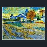 """Van Gogh - View of the Church of Saint Paul Postcard<br><div class=""""desc"""">Van Gogh - View of the Church of Saint Paul postcard. VIRGINIA5050,  custom-designed products and gifts at www.zazzle.com/virginia5050*,  PAUL KLEE GIFT SHOP at www.zazzle.com/paulkleegiftshop*,  INTERNATIONAL GIFTS at zazzle.com/InternationalGifts,  RETIREMENT GIFT STORE at zazzle.com/RetirementGiftStore,  BIRTHDAY GIFT STORE at zazzle.com/BirthdayGiftStore,  I LOVE GIFT STORE at zazzle.com/ILoveGiftStore*,  and FLORIDA GIFT STORE at zazzle.com/FloridaGiftStore*</div>"""