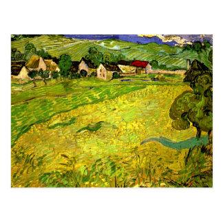Van Gogh - View of Vessenots near Auvers Postcard
