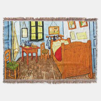 Van Gogh - Vincent's Bedroom in Arles Throw