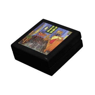 Van Gogh; Vincent's Bedroom in Arles, Vintage Art Trinket Box