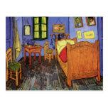 Van Gogh; Vincent's Bedroom in Arles, Vintage Art Post Card