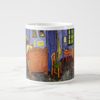 Van Gogh; Vincent's Bedroom in Arles, Vintage Art Extra Large Mugs