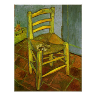 Van Gogh, Vincent's Chair With His Pipe Poster