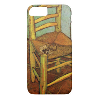 Van Gogh; Vincent's Chair with Pipe, Vintage Art iPhone 8/7 Case