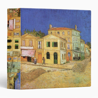 Van Gogh Vincent's House in Arles, Fine Art 3 Ring Binder