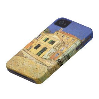 Van Gogh, Vincent's House in Arles (Yellow House) iPhone 4 Case-Mate Cases