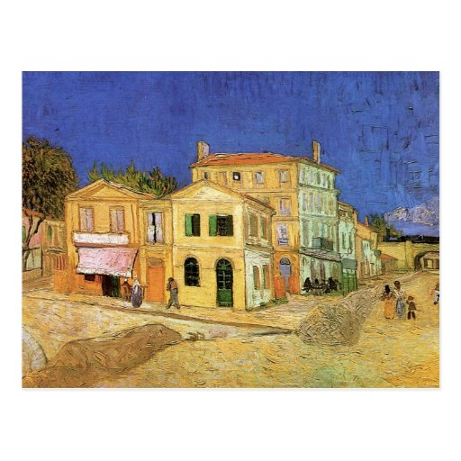 Van Gogh; Vincent's House in Arles (Yellow House) Post Card