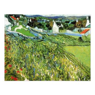 Van Gogh; Viñedos con vistas a Auvers Anuncios Personalizados