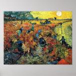 Van Gogh - viñedos rojos en Arles