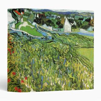Van Gogh Vineyards with Auvers, Vintage Landscapes Vinyl Binder