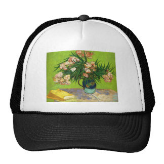 Van Gogh Vintage Painting Blossoms Flowers Vines Trucker Hat