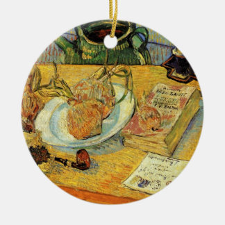 Van Gogh Vintage Post Impressionism Still Life Art Ceramic Ornament