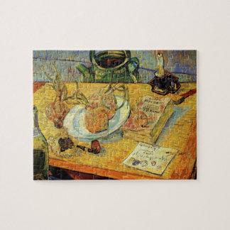 Van Gogh Vintage Post Impressionism Still Life Art Jigsaw Puzzle