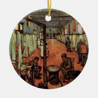 Van Gogh; Ward in the Hospital in Arles Ceramic Ornament