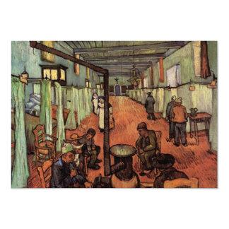 Van Gogh; Ward in the Hospital in Arles Announcement