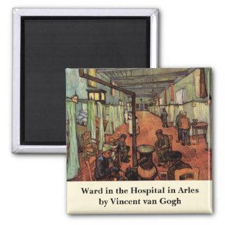 Van Gogh; Ward in the Hospital in Arles Magnet