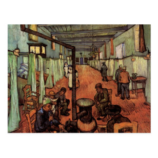 Van Gogh; Ward in the Hospital in Arles Postcard