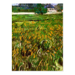 Van Gogh; Wheat Field at Auvers with White House Post Cards