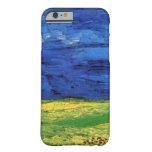 Van Gogh; Wheat Field Under Clouded Sky iPhone 6 Case