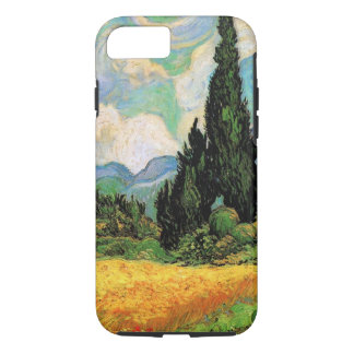 Van Gogh Wheat Field w Cypresses at Haute Galline iPhone 7 Case