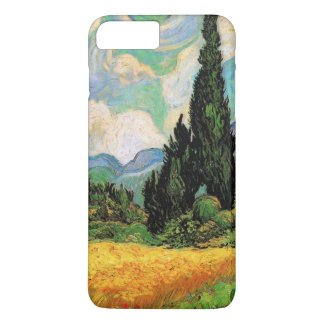 Van Gogh Wheat Field w Cypresses at Haute Galline iPhone 8 Plus/7 Plus Case