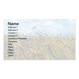 Van Gogh - Wheat Field With A Lark Double-Sided Standard Business Cards (Pack Of 100)