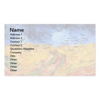 Van Gogh - Wheat Field with Black Crows Business Card