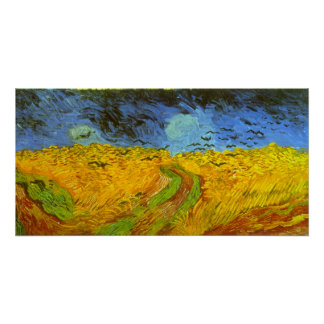 Wheat Posters Zazzle - Artist plants 12 acre field to create a giant artwork inspired by van gogh