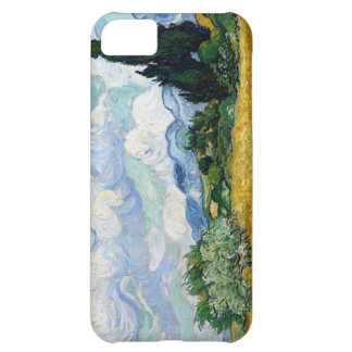 Van Gogh Wheat Field with Cypresses iPhone 5C Cases