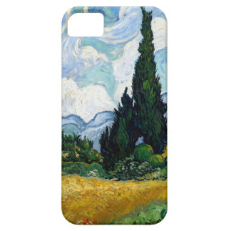 Van Gogh Wheat Field with Cypresses iPhone SE/5/5s Case
