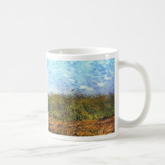 Van Gogh: Wheat Field with Poppies and Lark Coffee Mug