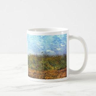 Van Gogh: Wheat Field with Poppies and Lark Coffee Mug
