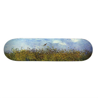 Van Gogh: Wheat Field with Poppies and Lark Skate Boards