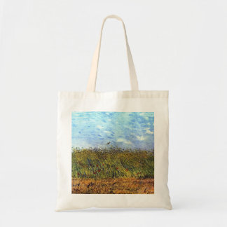 Van Gogh: Wheat Field with Poppies and Lark Tote Bag
