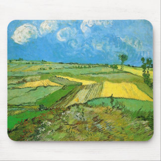 Van Gogh Wheat Fields at Auvers Under Clouded Sky Mouse Pad