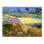 Van Gogh Wheat Fields near Auvers Postcard
