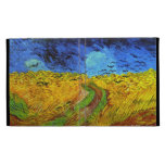 Van Gogh Wheatfield with Crows (F779) Fine Art iPad Case