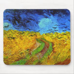 Van Gogh Wheatfield with Crows (F779) Fine Art Mouse Pad