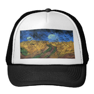 Van Gogh Wheatfield With Crows Hat