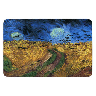 Van Gogh Wheatfield With Crows Magnet
