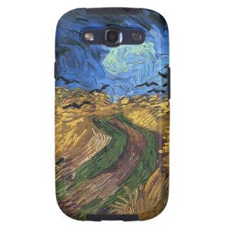 Van Gogh Wheatfield With Crows Samsung Galaxy Case Galaxy SIII Case