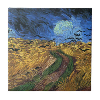 Van Gogh Wheatfield With Crows Tile