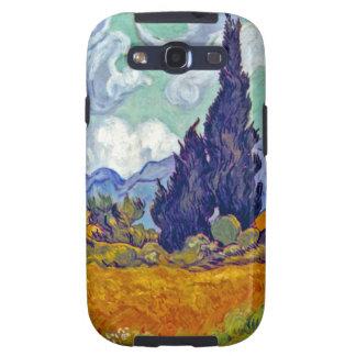 Van Gogh - Wheatfield With Cypresses Galaxy SIII Cases