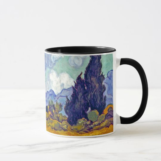 Van Gogh - Wheatfield With Cypresses Mug