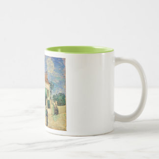 Van Gogh White house night Mugs
