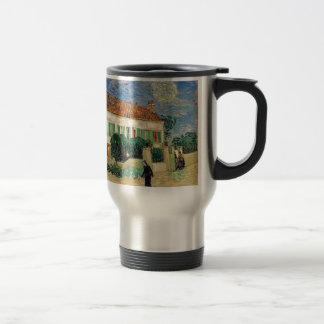Van Gogh White house night Travel Mug